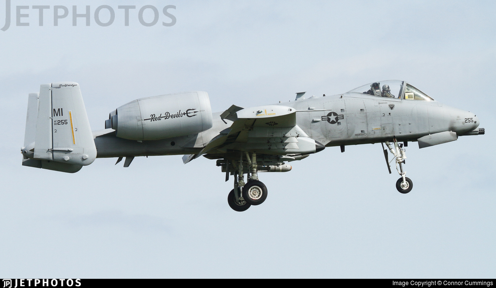 80-0255 - Fairchild A-10C Thunderbolt II - United States - US Air Force (USAF)