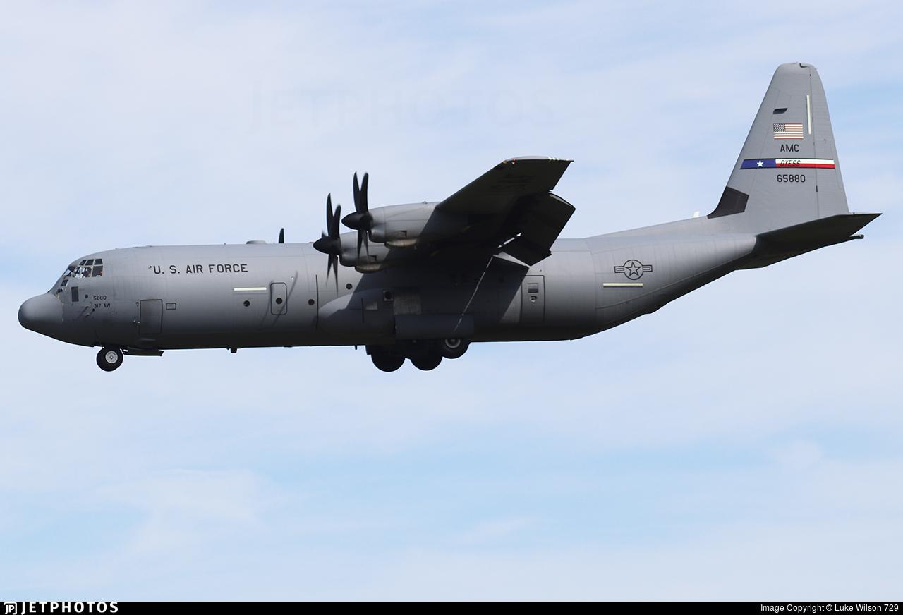16-5880 - Lockheed Martin C-130J-30 Hercules - United States - US Air Force (USAF)