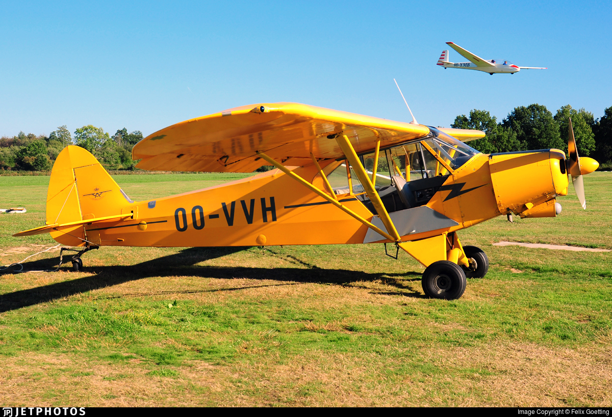 OO-VVH - Piper PA-18-180M Super Cub - Private