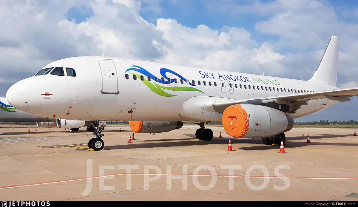 XU-720 - Airbus A320-232 - Sky Angkor Airlines