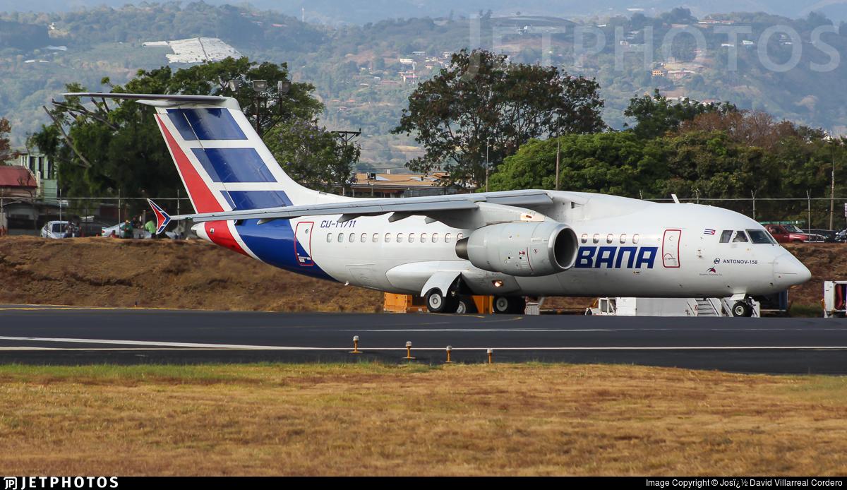 CU-T1711 - Antonov AN-158 - Cubana de Aviación