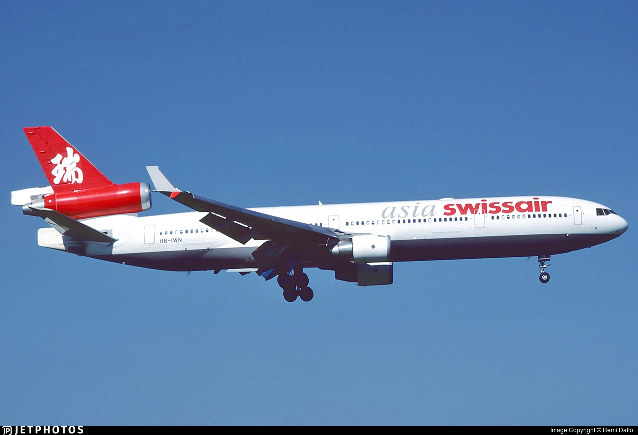 HB-IWN - McDonnell Douglas MD-11 - Swissair Asia