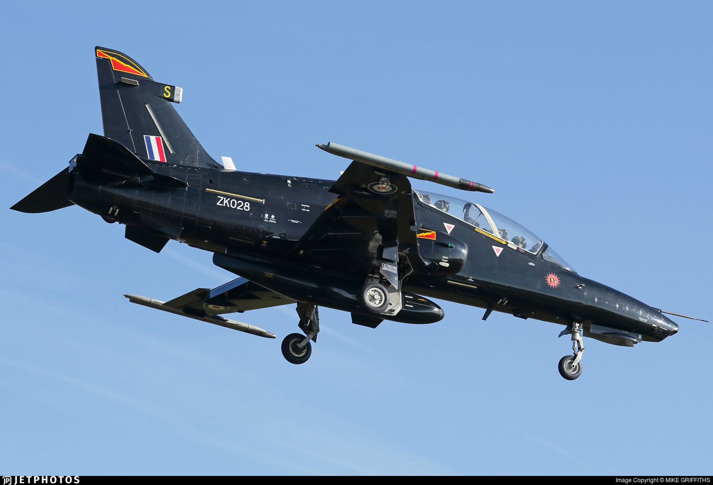 ZK028 - British Aerospace Hawk T.2 - United Kingdom - Royal Air Force (RAF)