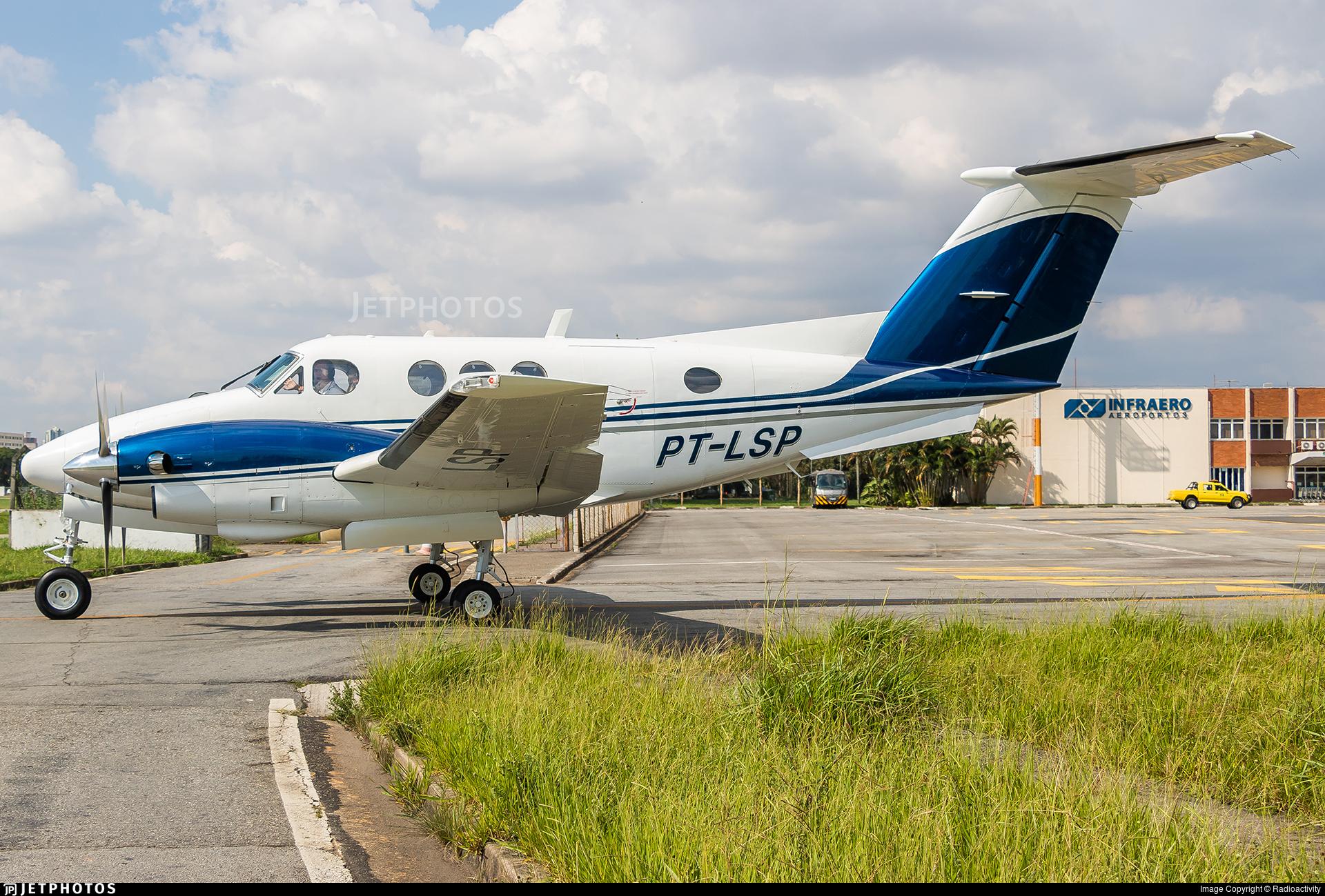 PT-LSP | Beechcraft F90 King Air | Private | Radioactivity | JetPhotos
