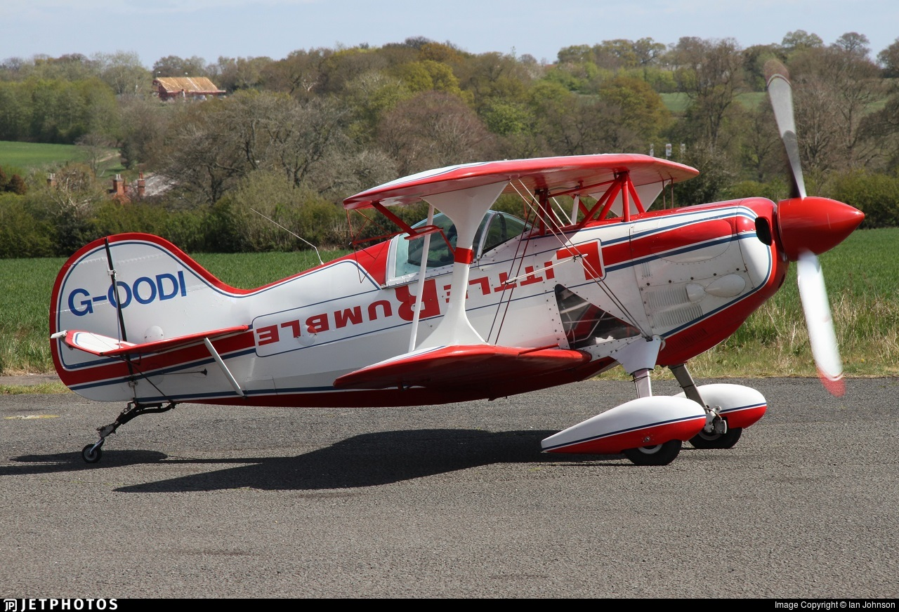 G-OODI - Pitts S-1D Special - Private