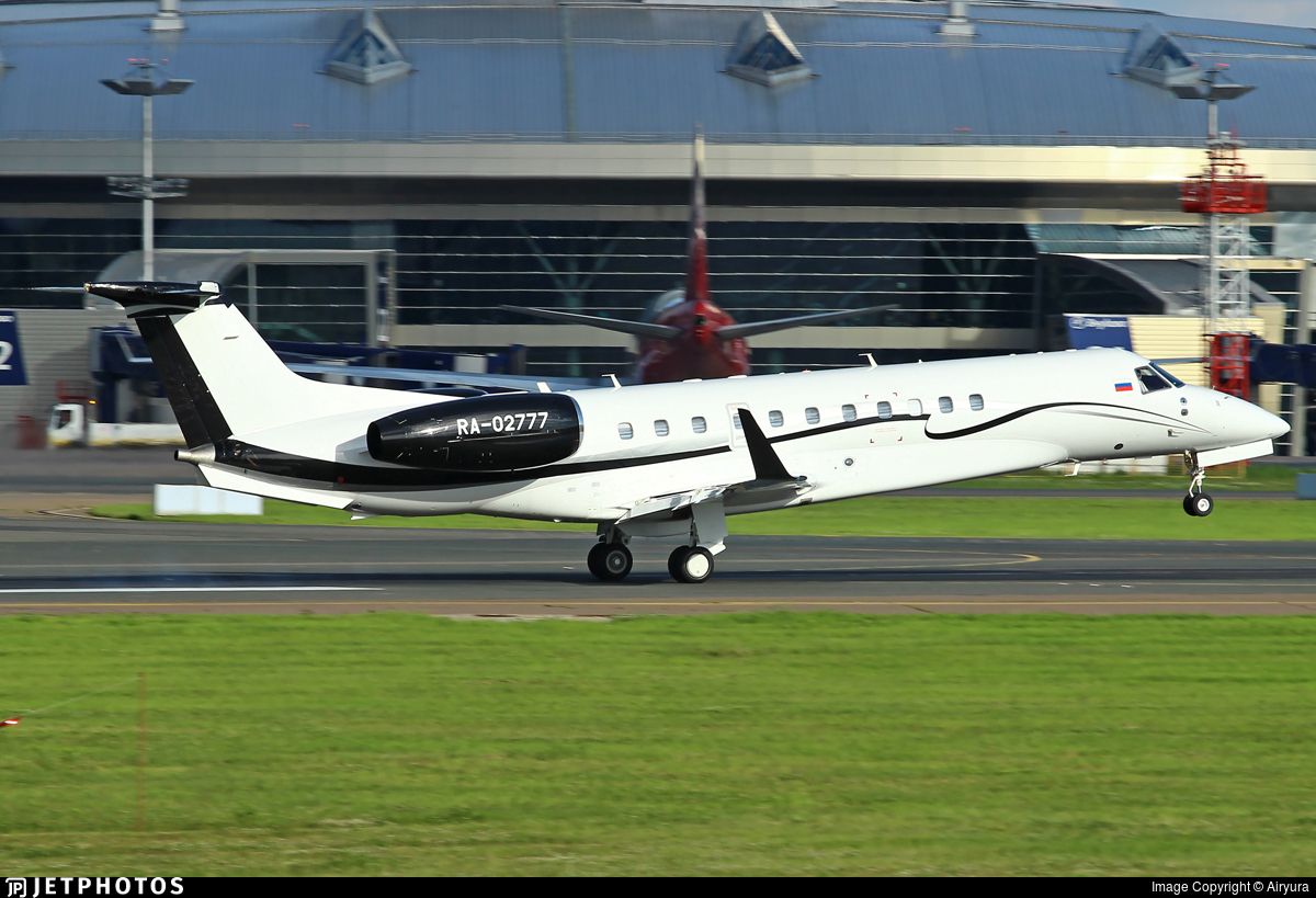 RA-02777 - Embraer ERJ-135BJ Legacy - Private