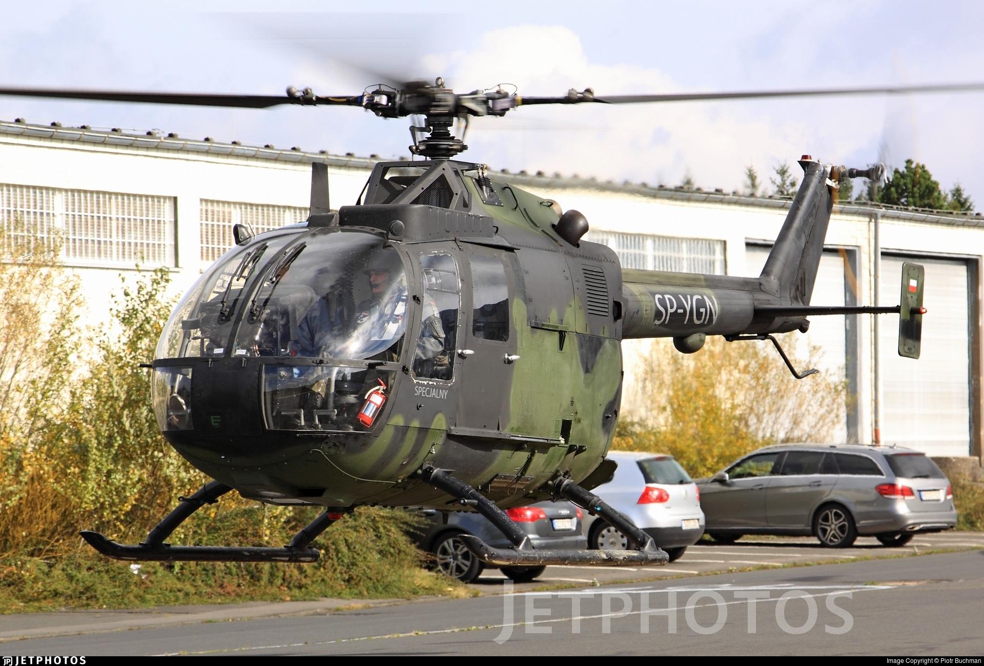 SP-YGN - MBB Bo105P1 - Private