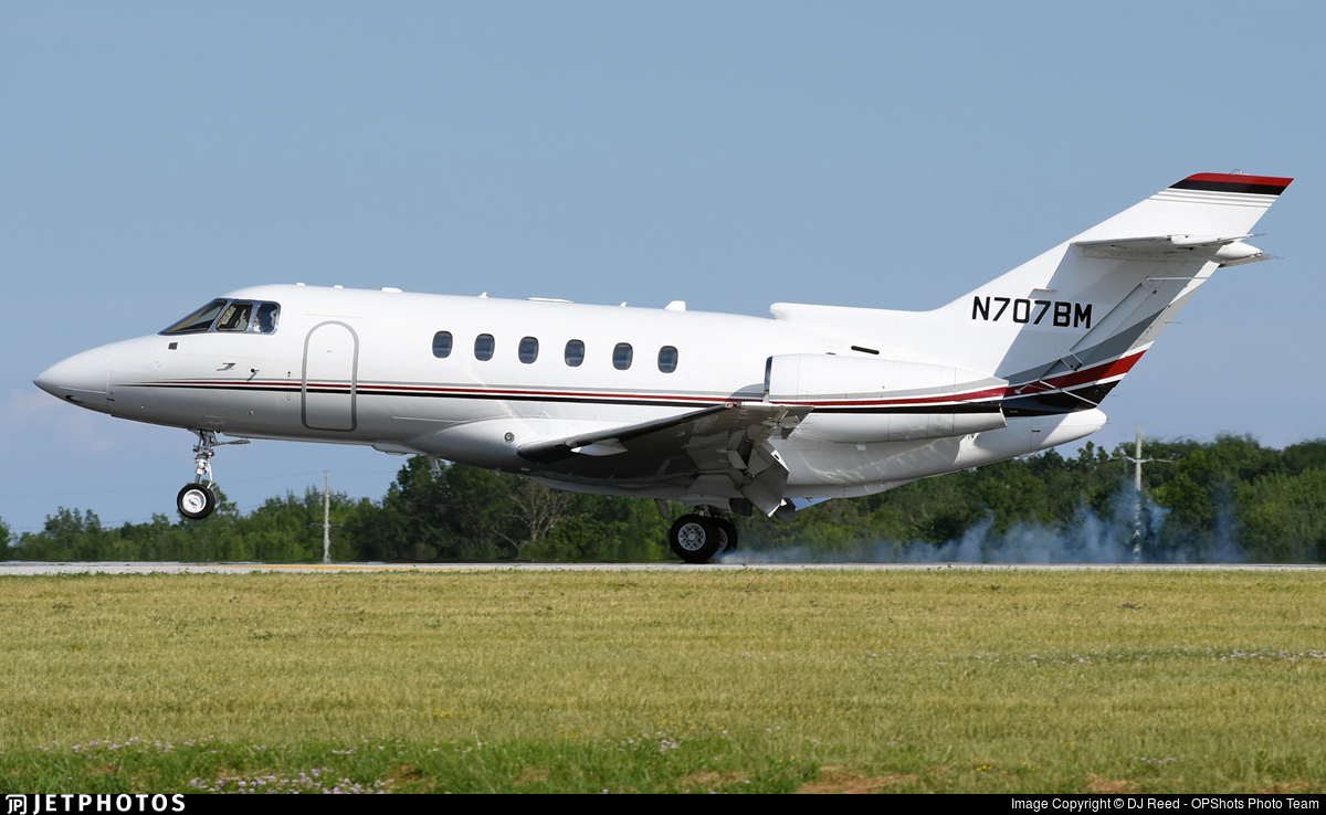 N707BM - Raytheon Hawker 800XP - Private