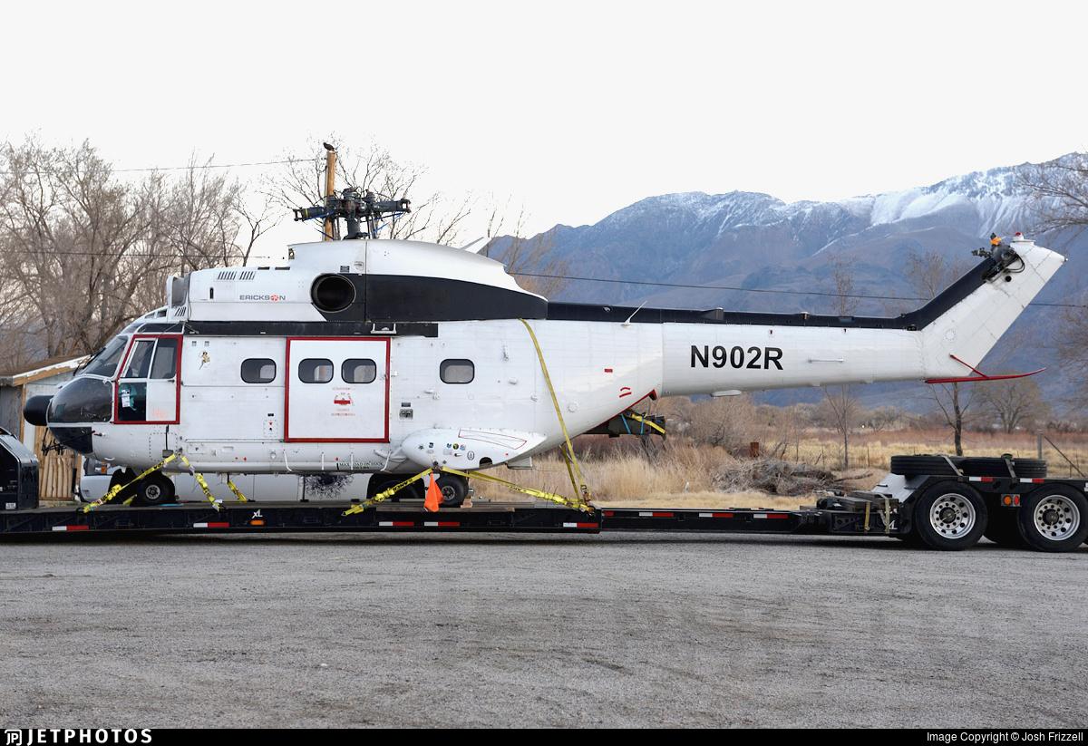 N902R - Aérospatiale SA 330J Puma - Erickson Aviation