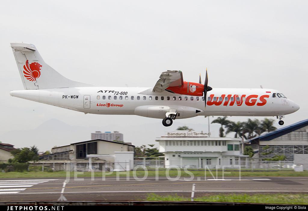 PK-WGW - ATR 72-212A(600) - Wings Air