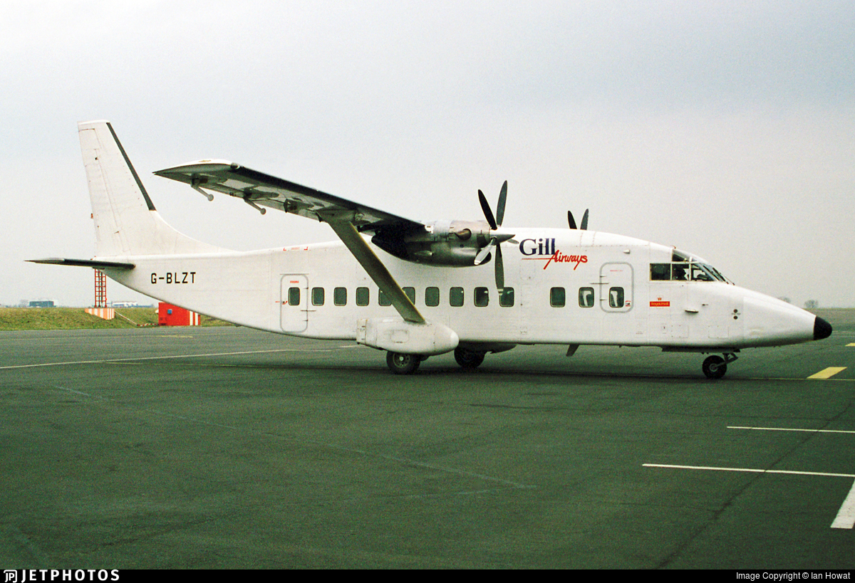 G-BLZT - Short 360-100 - Gill Airways