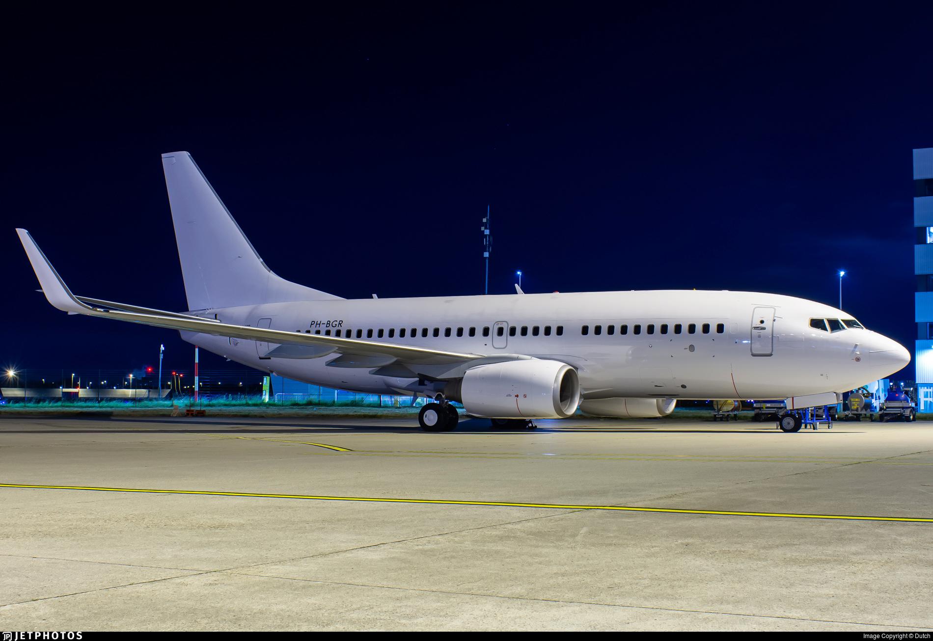PH-BGR - Boeing 737-7K2 - Untitled