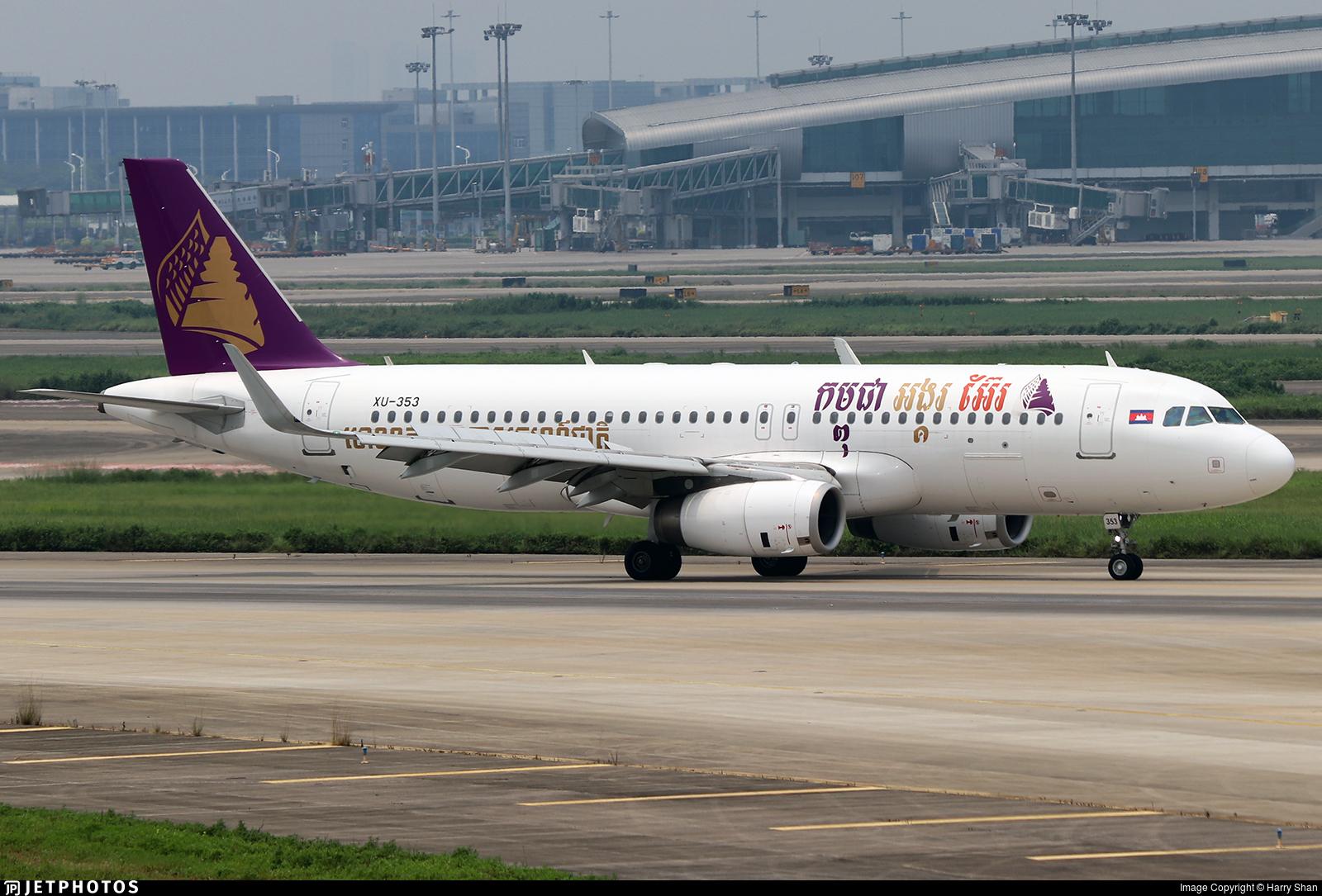 XU-353 - Airbus A320-232 - Cambodia Angkor Air