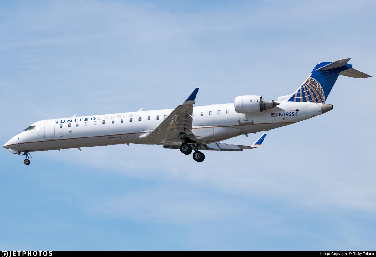 N795SK - Bombardier CRJ-702 - United Express (SkyWest Airlines)