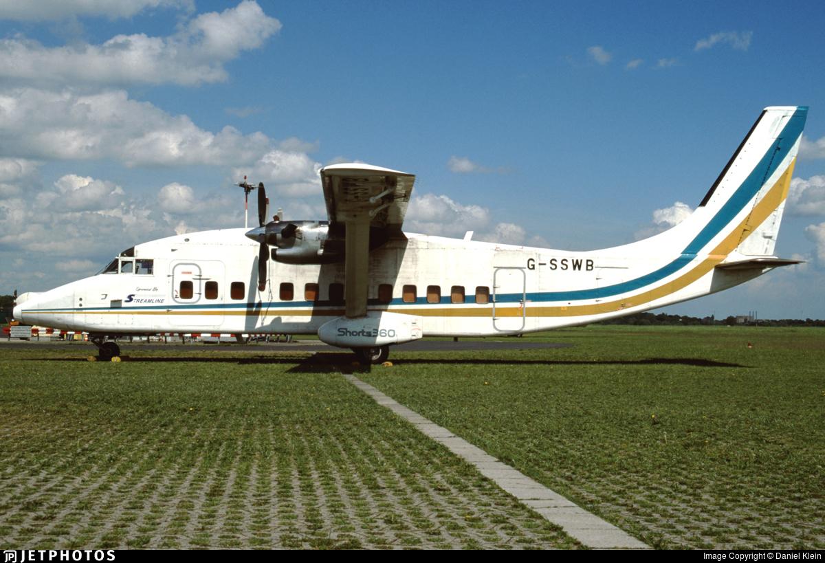 G-SSWB - Short 360-100 - Streamline Aviation