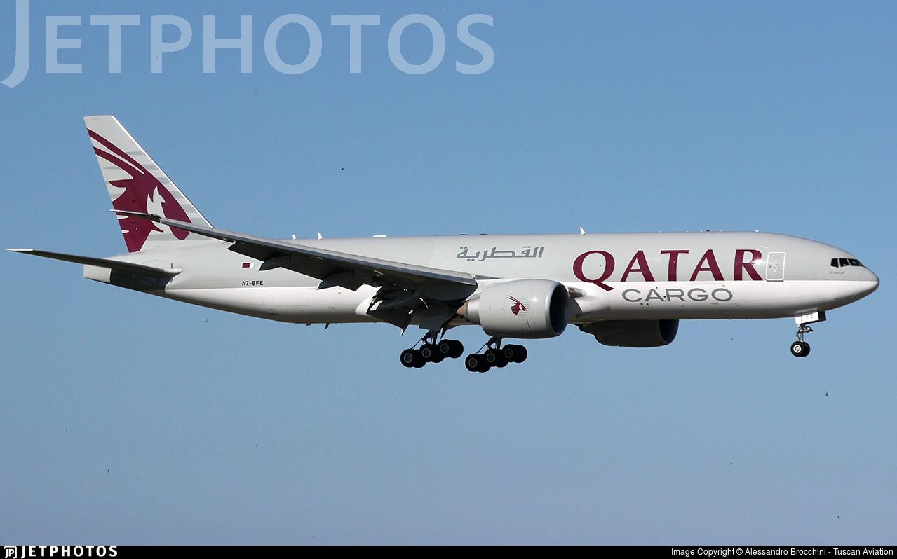 A7-BFE - Boeing 777-FDZ - Qatar Airways Cargo