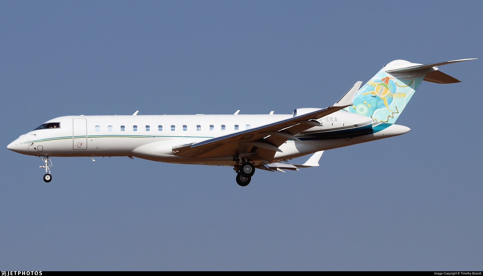 ZS-EKA - Bombardier BD-700-1A10 Global 6500 - Fireblade Aviation