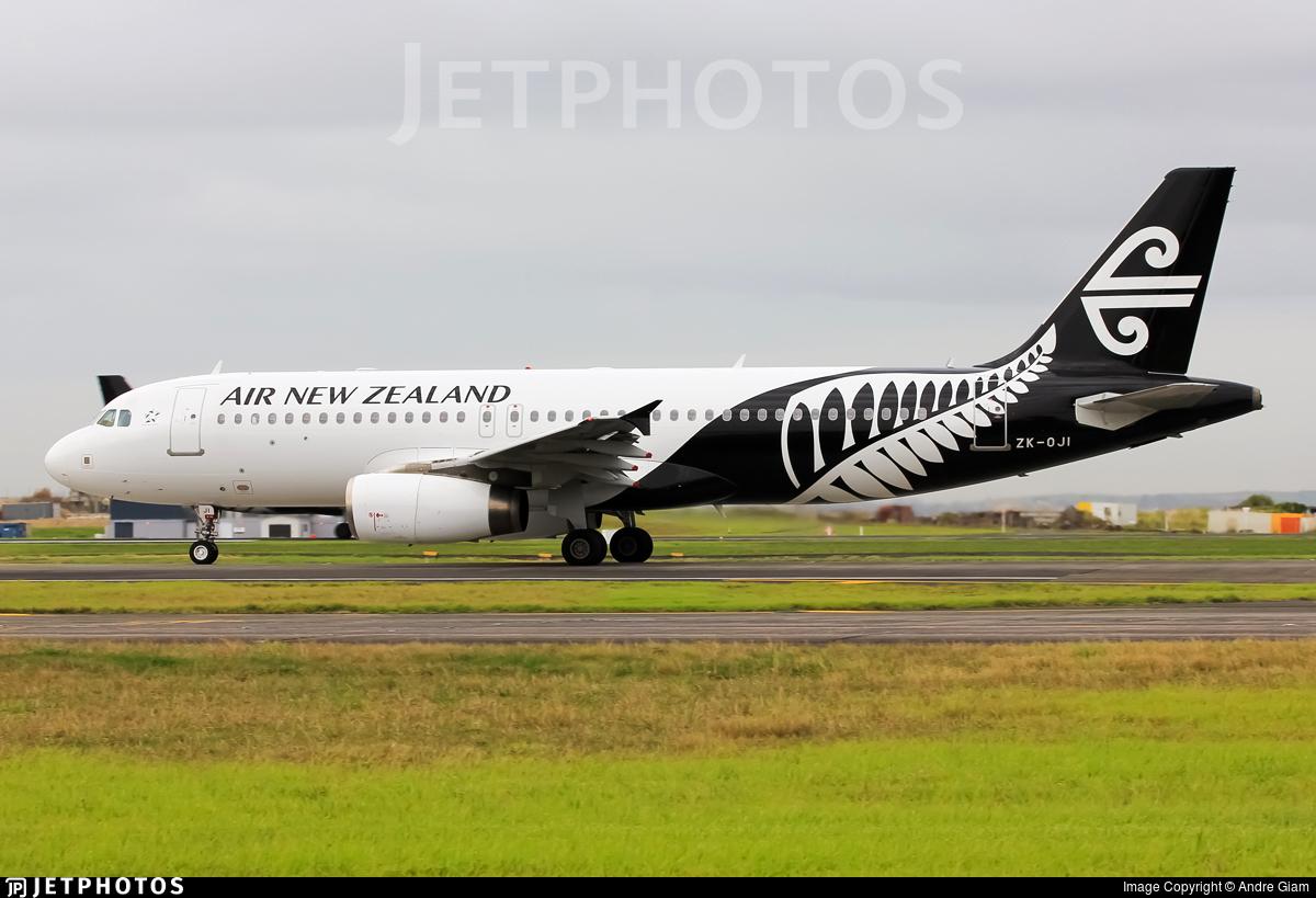 ZK-OJI - Airbus A320-232 - Air New Zealand