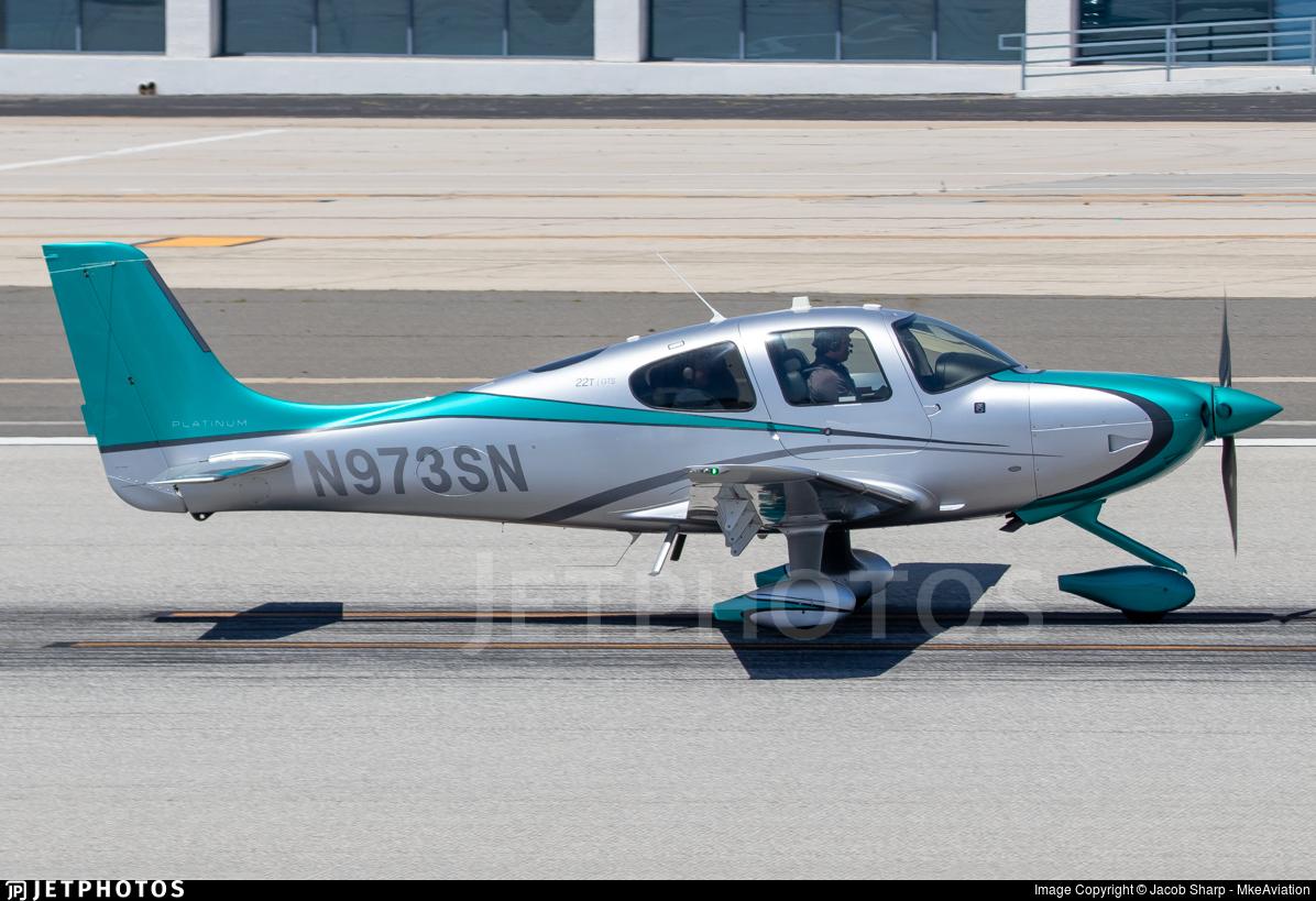 N973SN - Cirrus SR22T-GTS Platinum - Private