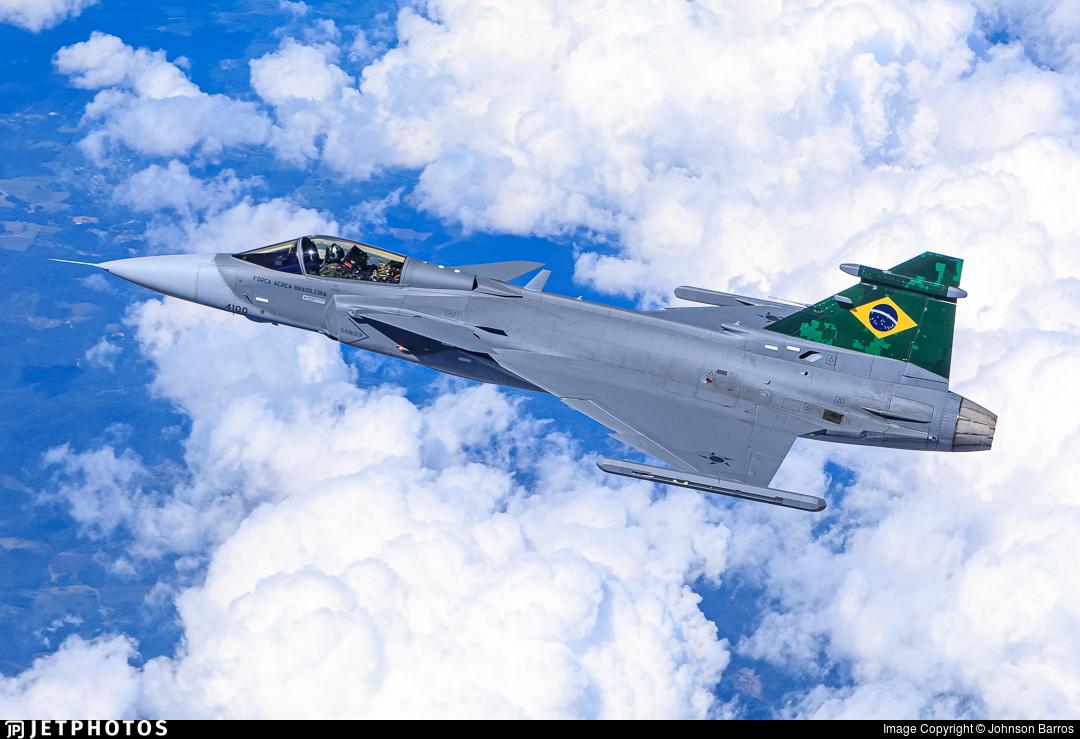 FAB4100 | Saab F-39E Gripen | Brazil - Air Force | Johnson Barros | JetPhotos