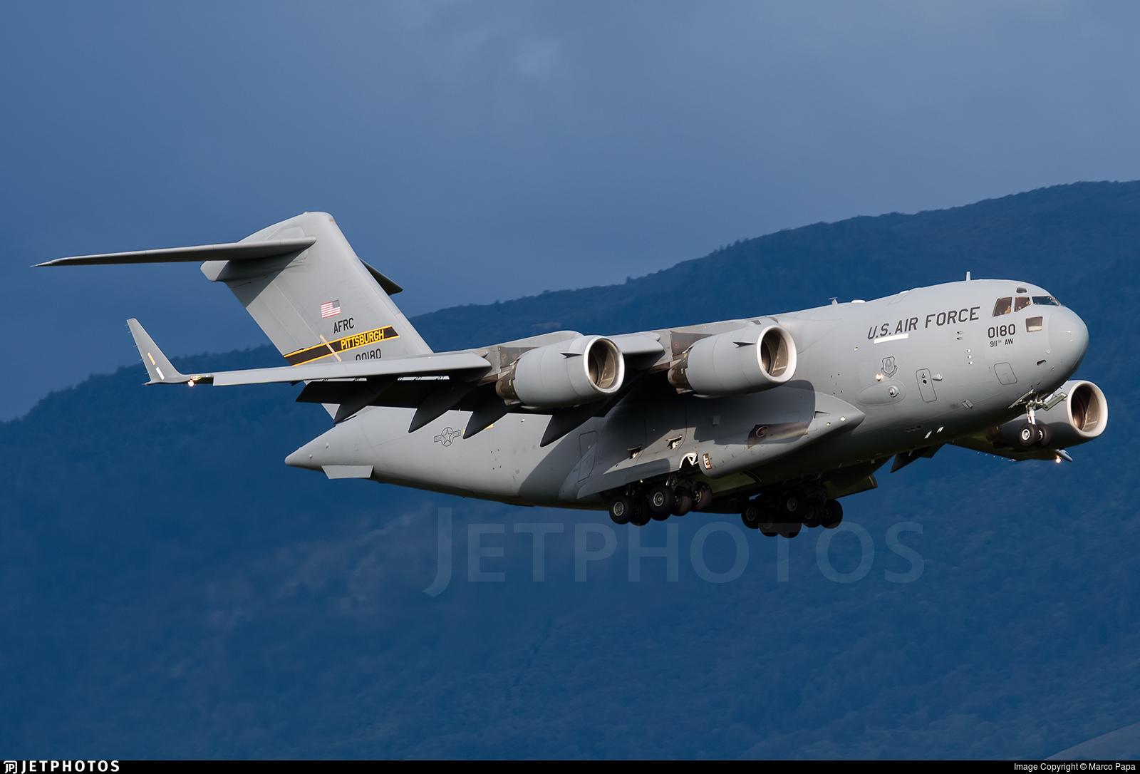 00-0180 - Boeing C-17A Globemaster III - United States - US Air Force (USAF)