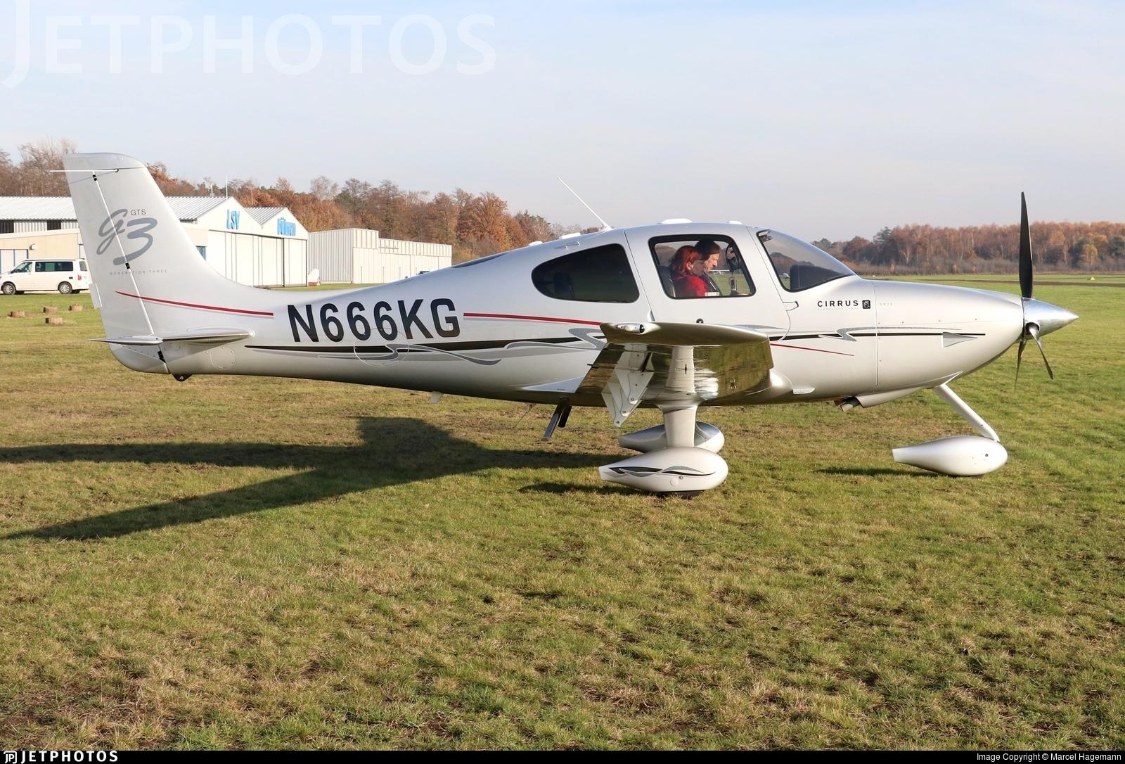 N666KG - Cirrus SR22-GTS G3 - Private