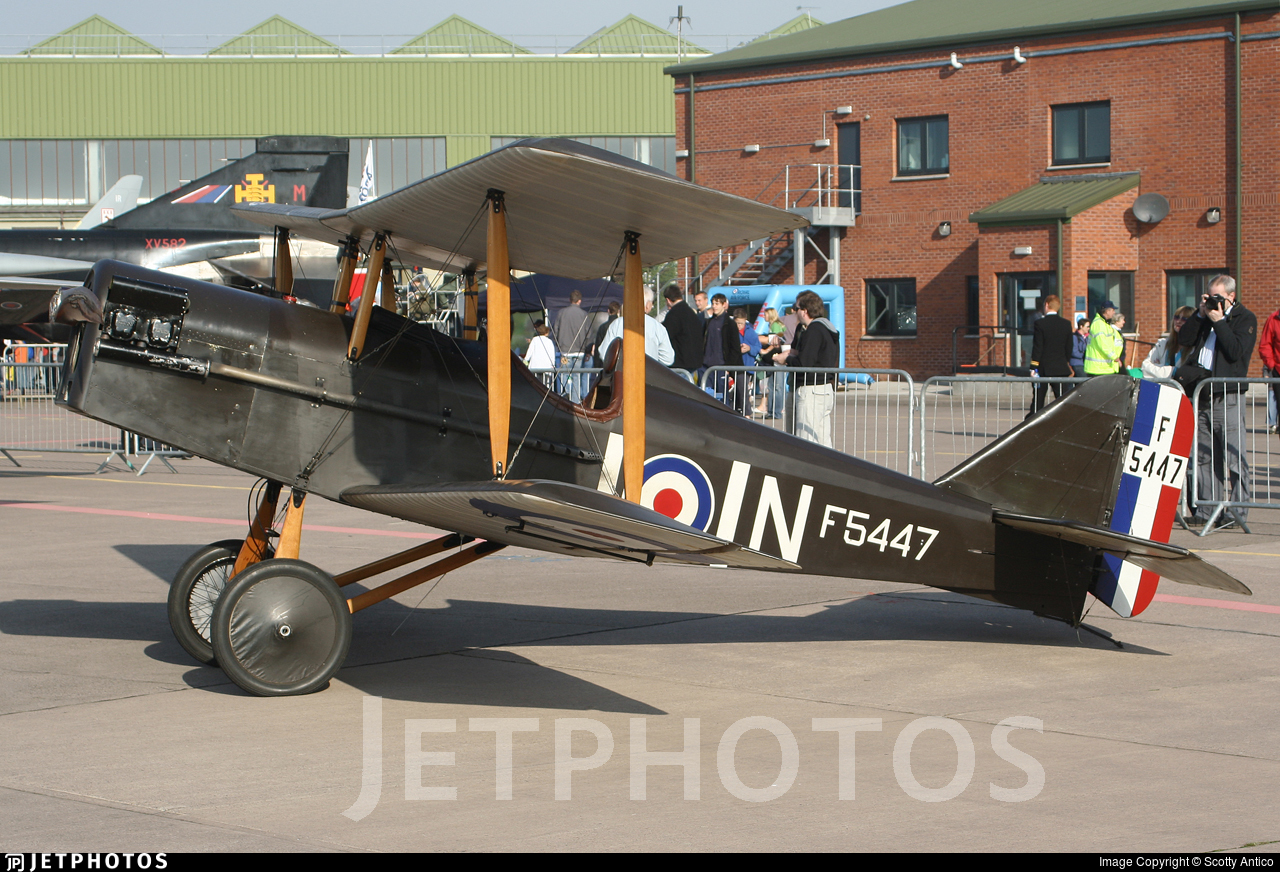 G-BKER - Royal Aircraft Factory SE.5A Scout - Private