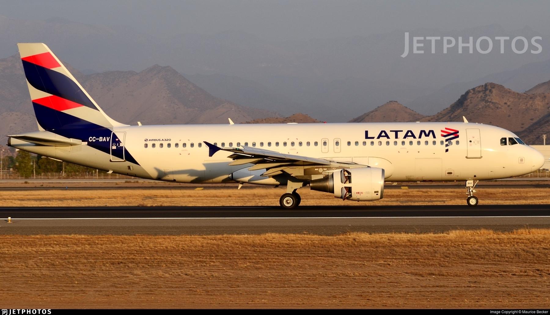 CC-BAV - Airbus A320-214 - LATAM Airlines