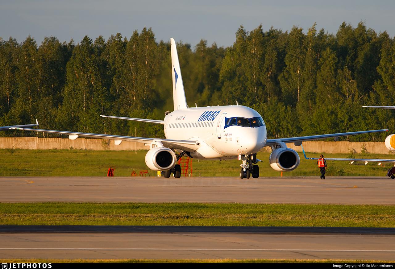RA-89075 - Sukhoi Superjet 100-95LR - IrAero