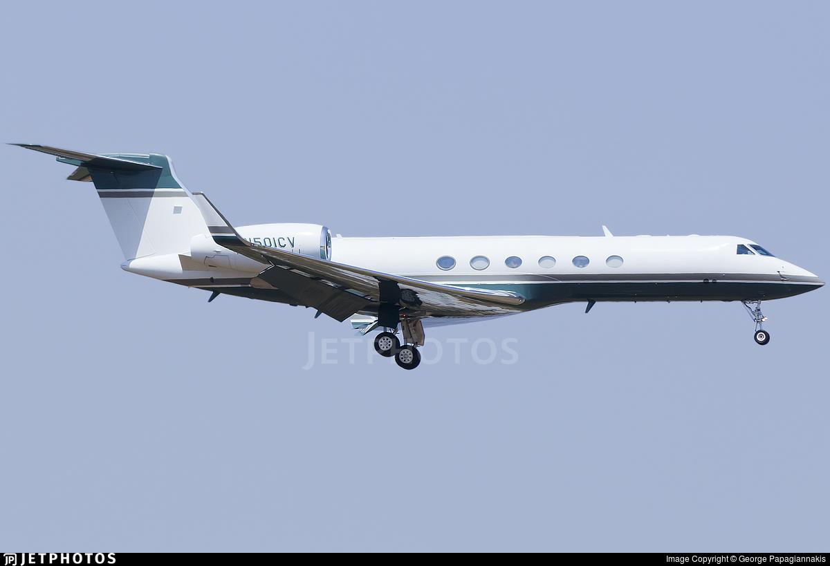 N501CV - Gulfstream G-V - Red Line Air
