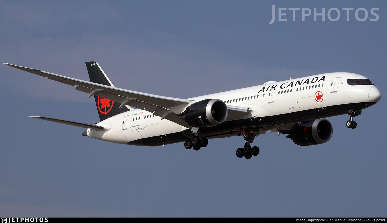 C-FRSR - Boeing 787-9 Dreamliner - Air Canada