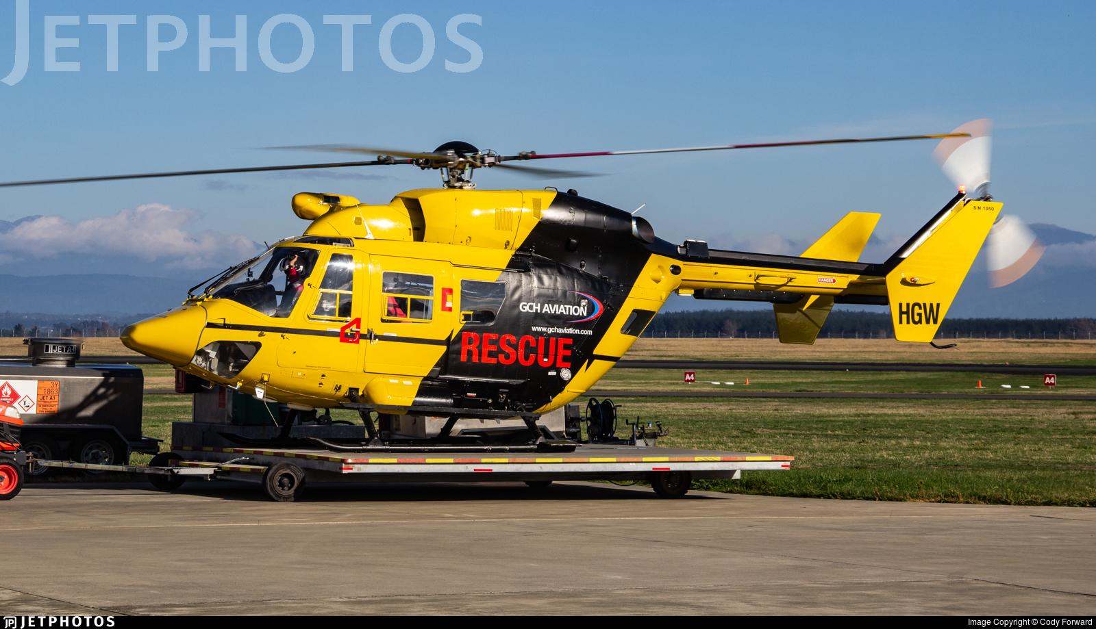 ZK-HGW - MBB-Kawasaki BK117B-2 - GCH Aviation