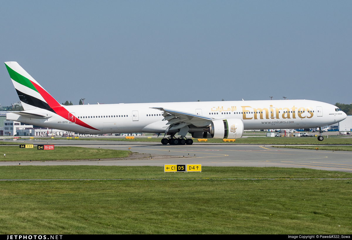 A6-EPO - Boeing 777-31HER - Emirates
