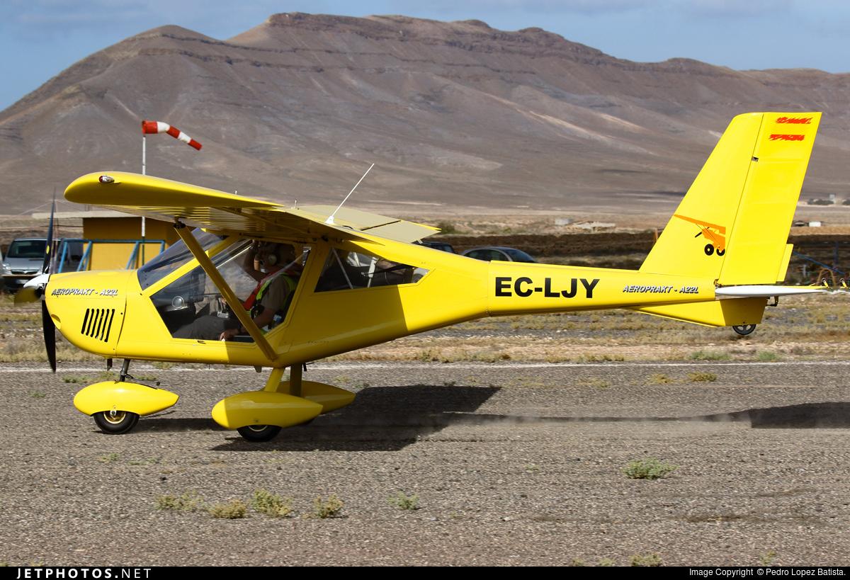 EC-LJY - Aeroprakt A22L2 Foxbat - Private