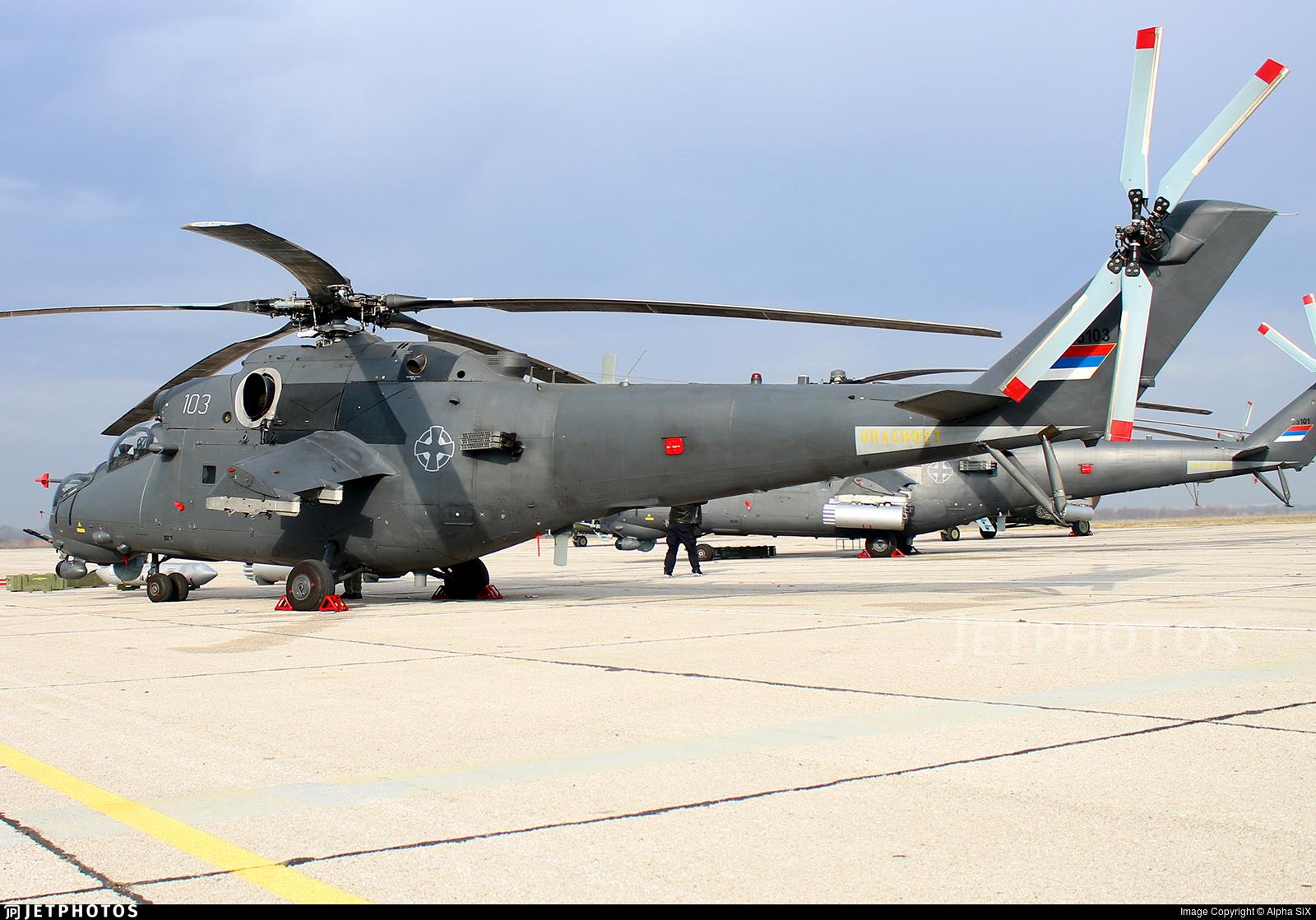 35103 - Mil Mi-35M Hind - Serbia - Air Force