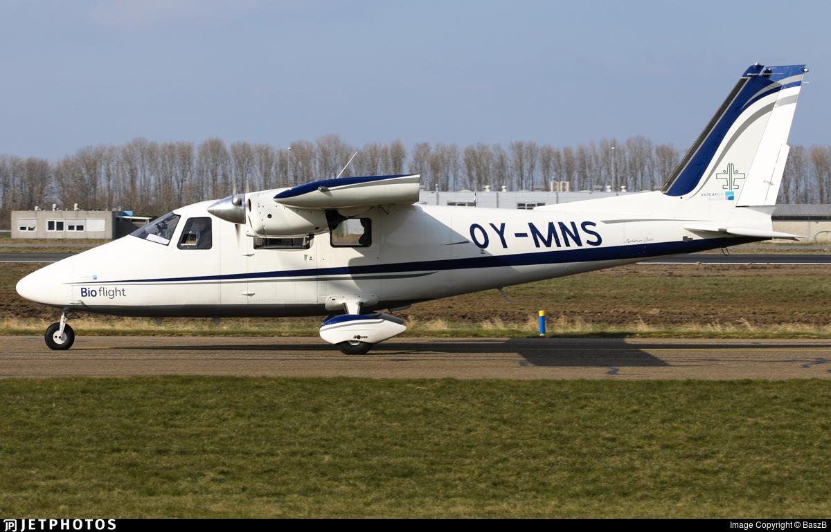 OY-MNS - Vulcanair P-68C - Bio flight