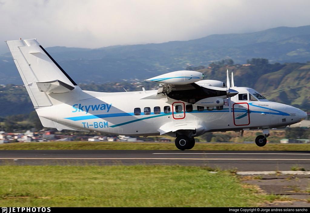 TI-BGM - Let L-410UVP-E20 Turbolet - SkyWay Costa Rica