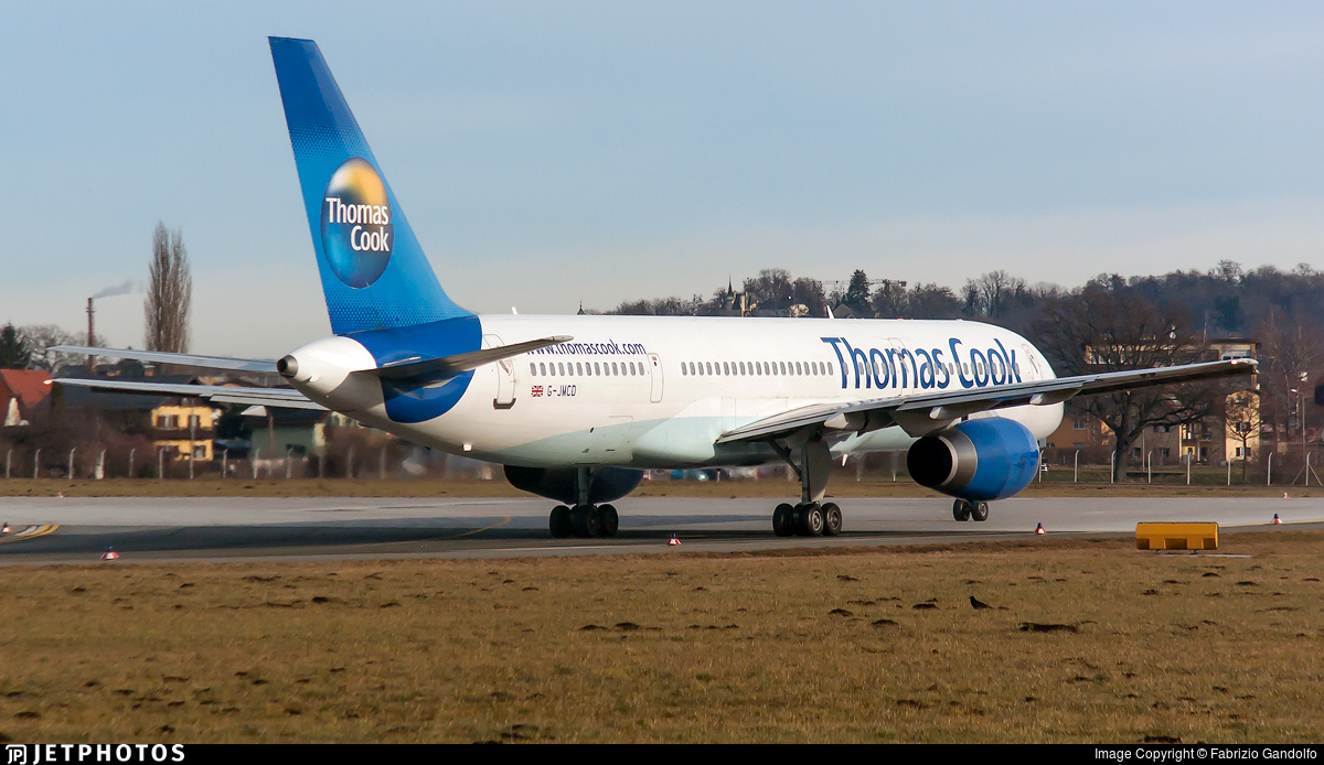 G-JMCD - Boeing 757-25F - Thomas Cook Airlines