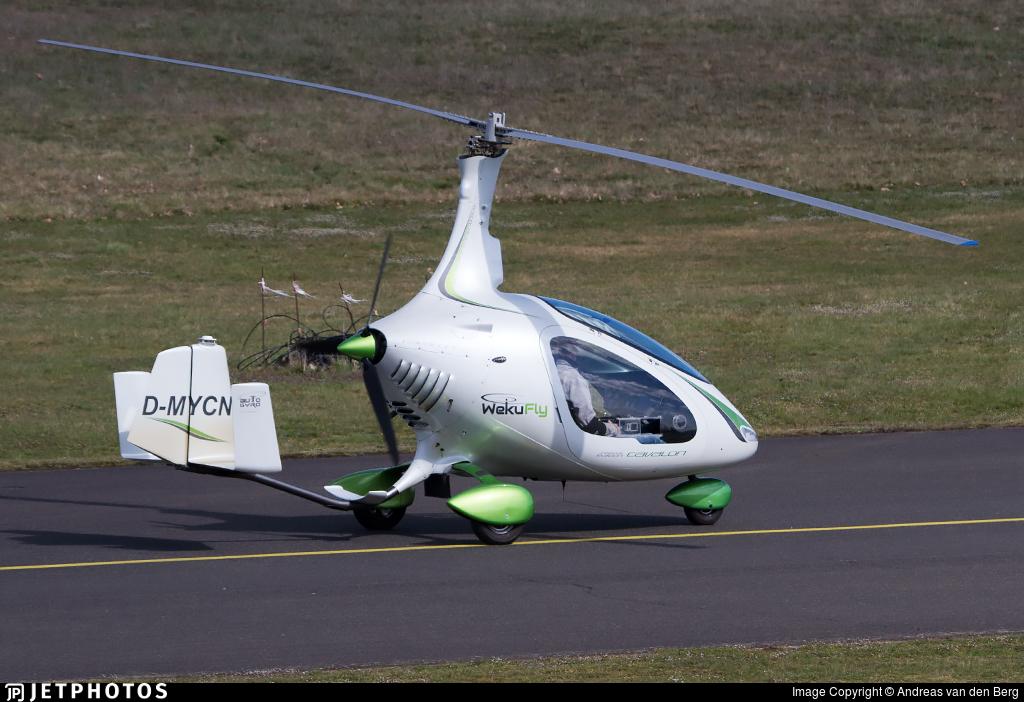 D-MYCN - Autogyro Europe Cavalon - WekuFly