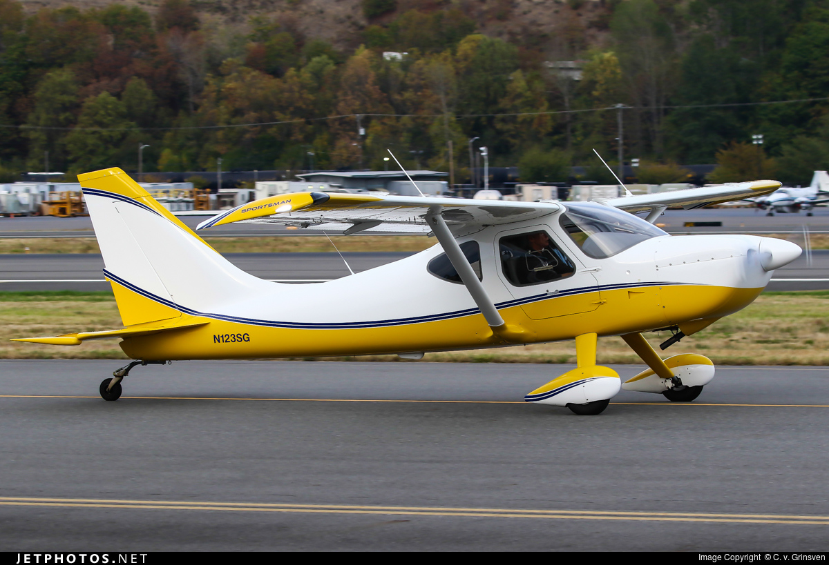 N123SG | Glasair Aviation Sportsman GS-2 | Private | C  v
