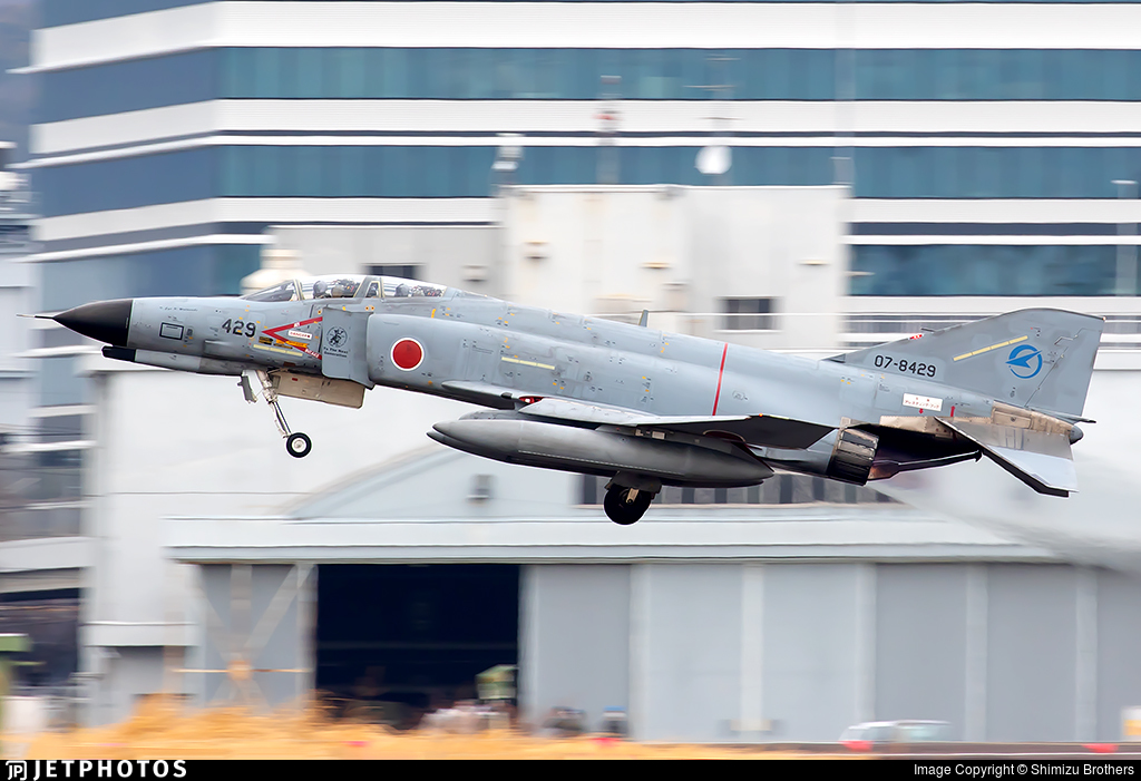 07-8429 - McDonnell Douglas F-4EJ Kai - Japan - Air Self Defence Force (JASDF)