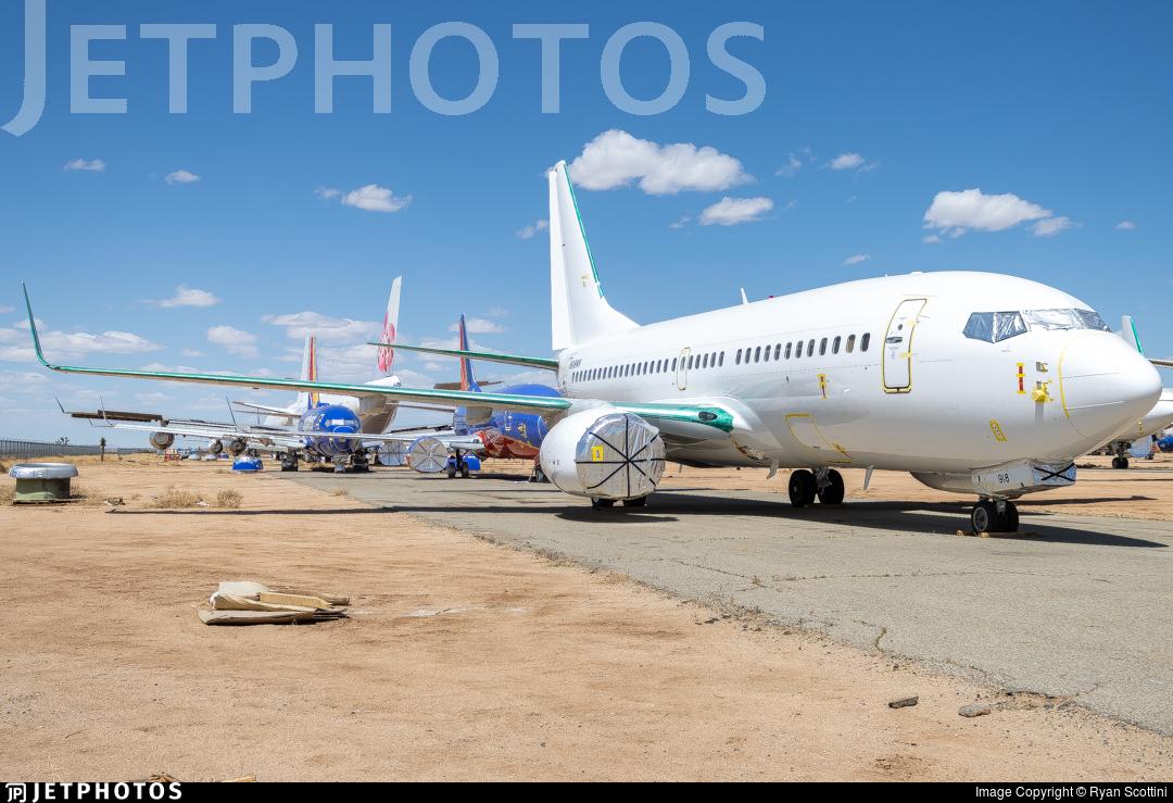 N918WN - Boeing 737-7H4 - Untitled