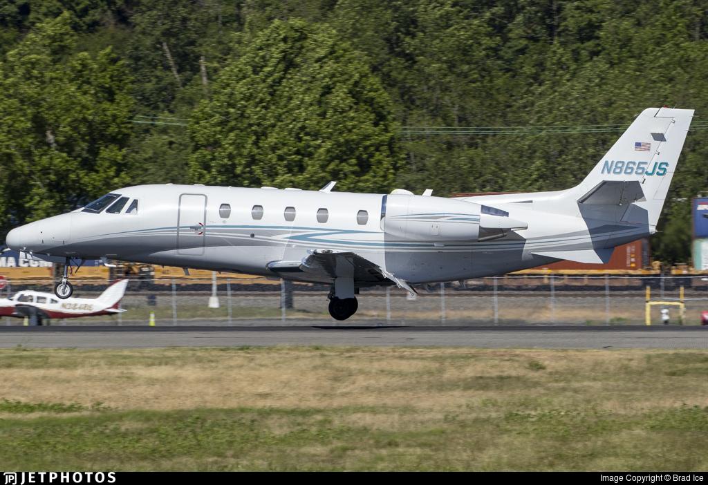 N865JS - Cessna 560XL Citation Excel - Private