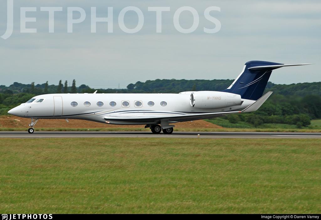 M-YNNS - Gulfstream G650 - Private