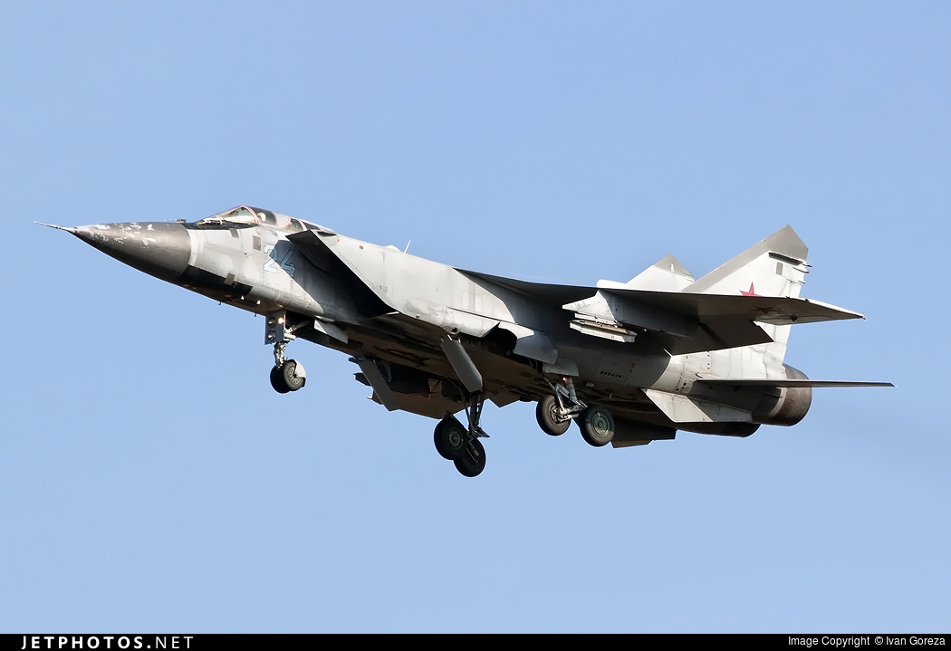24 - Mikoyan-Gurevich MiG-31 Foxhound - Russia - Air Force