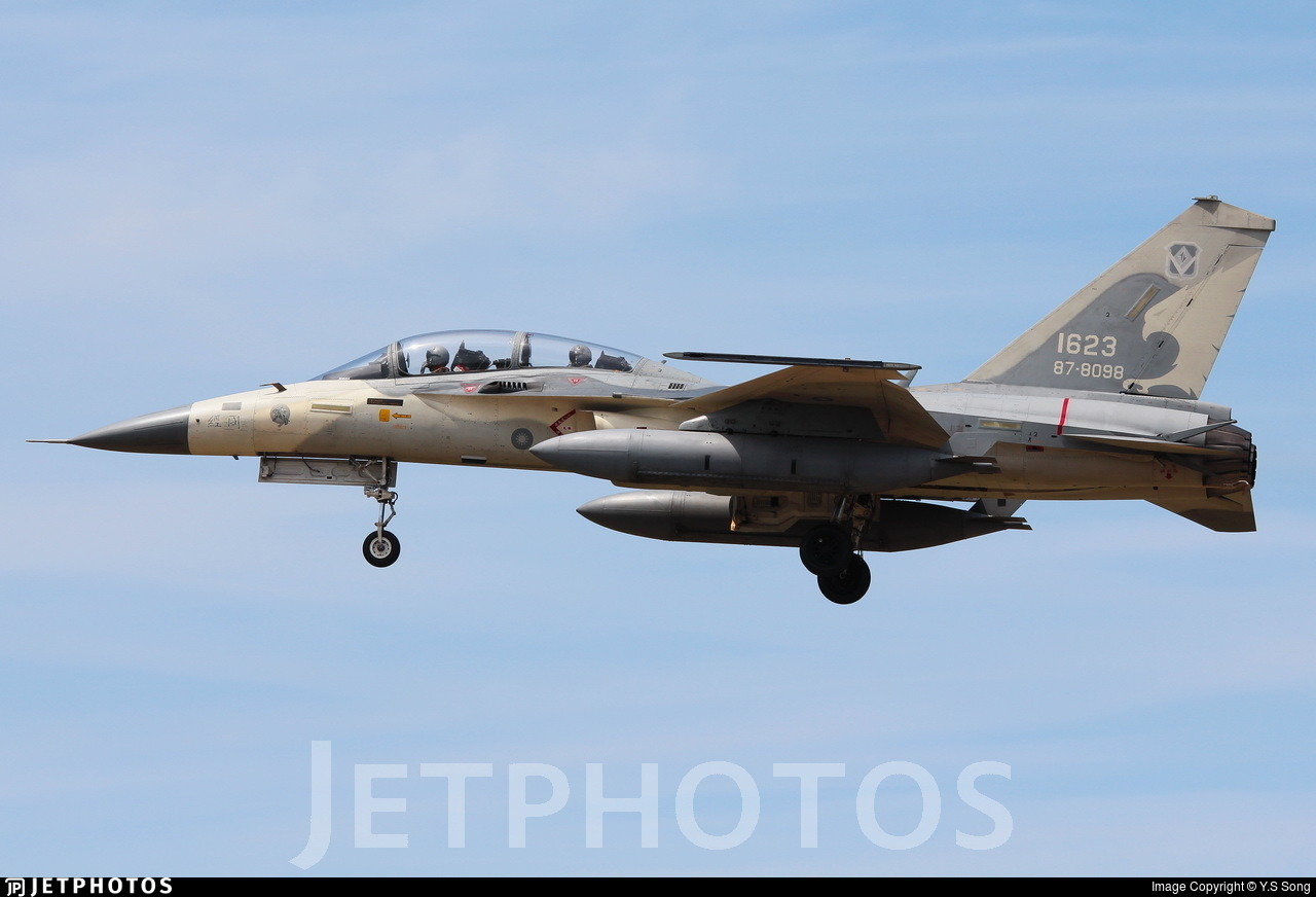 1623 - AIDC F-CK-1D Ching Kuo  - Taiwan - Air Force