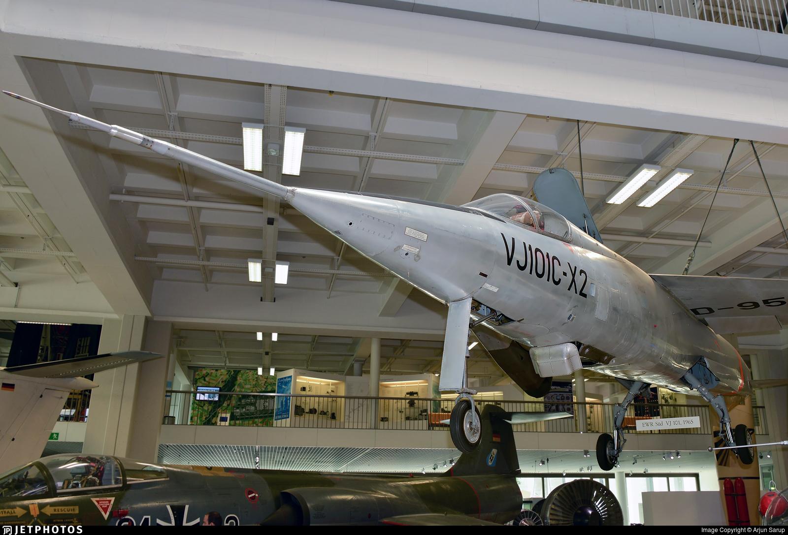 D-9518 - Dornier VJ 101-X2 - Germany - Air Force