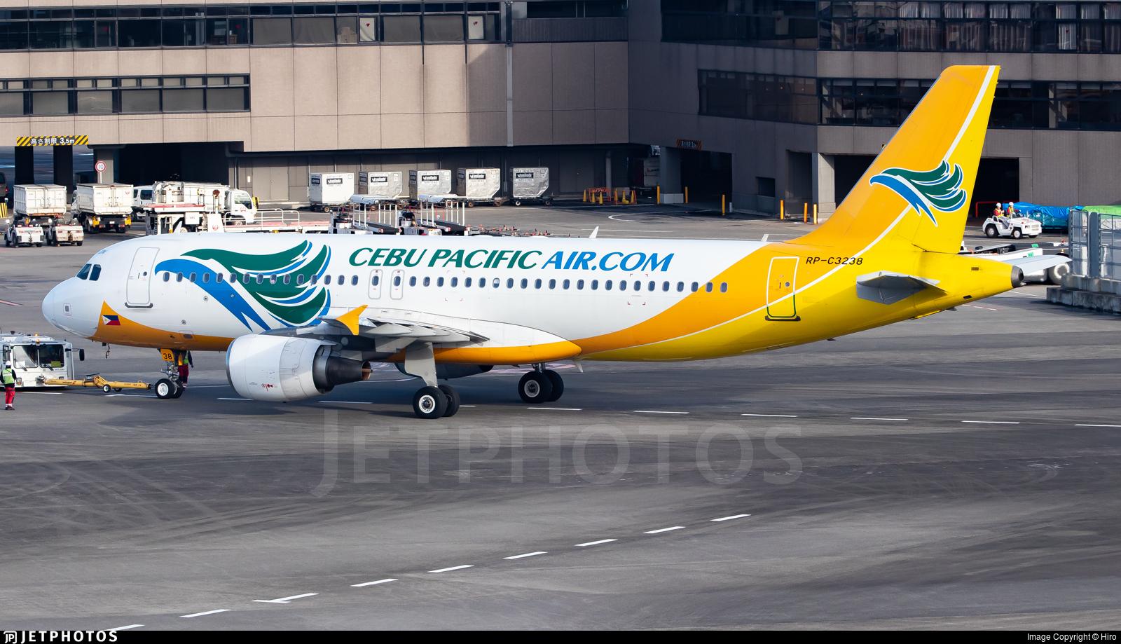 RP-C3238 - Airbus A320-214 - Cebu Pacific Air