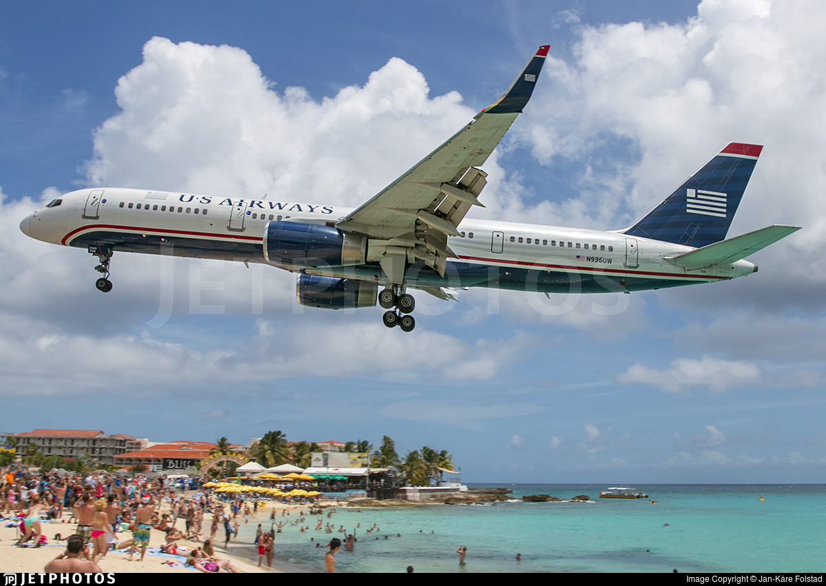 N936UW - Boeing 757-2B7 - US Airways