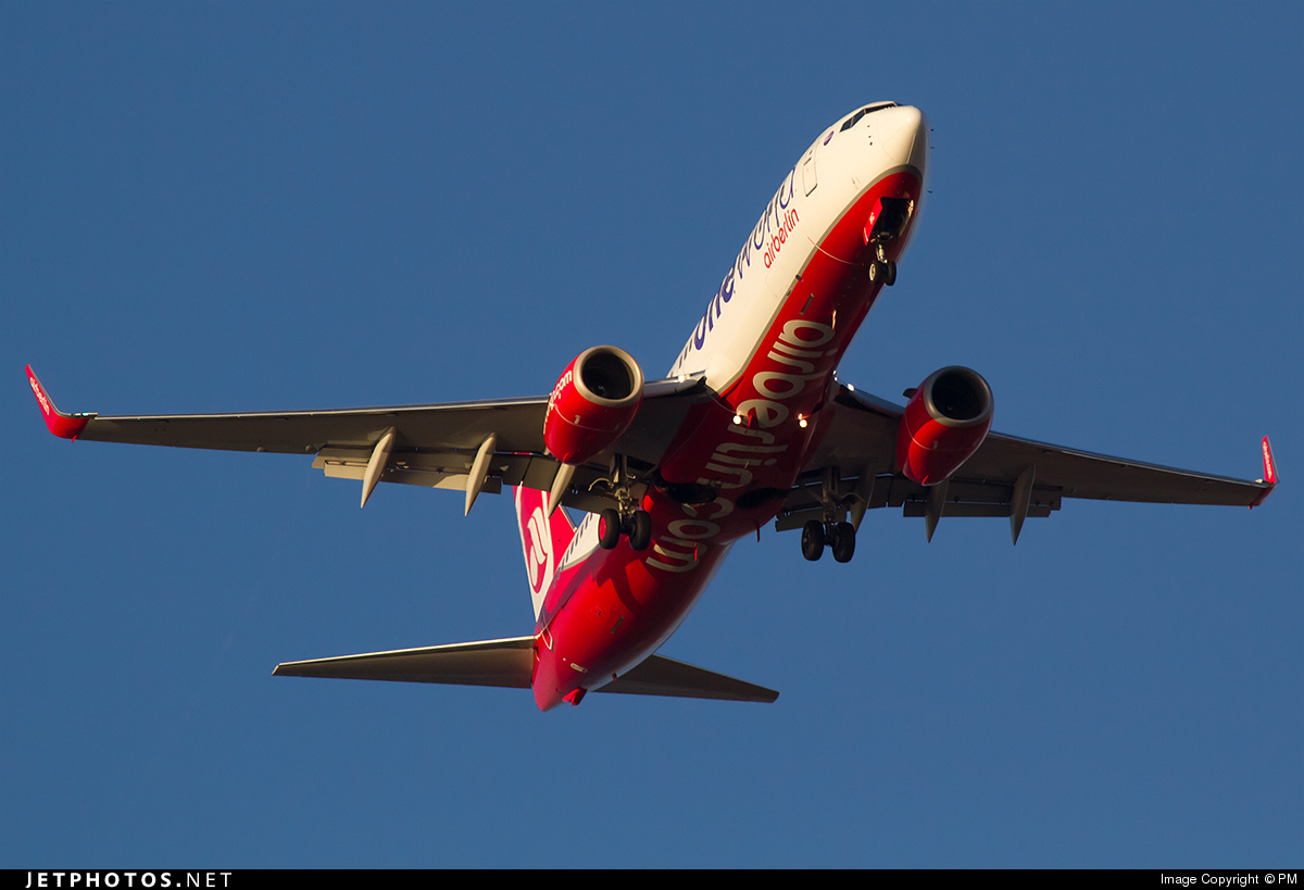 D-ABMC - Boeing 737-86J - Air Berlin